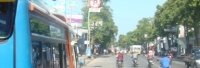 Meski Sudah Dipasang Tanda Larangan Parkir, Bus ini Tetap Nekad Parkir (Sebelah Utara Masjid Lasem-Tempat Favorit Bus-bus Ngetem)